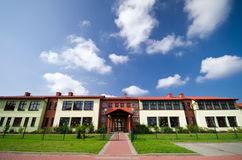 Construcción de escuelas fotografía de archivo libre de regalías