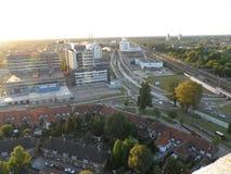 Construcción de Hartje Eindhoven Fotos de archivo