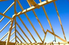 Construcción de la azotea. Fotografía de archivo libre de regalías