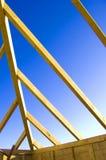 Construcción de la azotea. Imagen de archivo libre de regalías