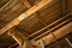 Construcción de la azotea Foto de archivo
