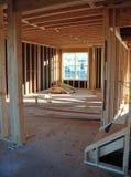 Construcción de la casa Foto de archivo libre de regalías