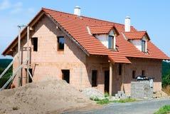 Construcción de la casa Fotos de archivo libres de regalías