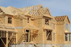 Construcción de la casa Imagen de archivo