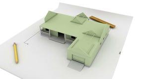Construcción de la casa