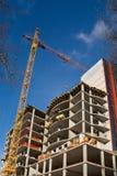 Construcción de la casa de vivienda Foto de archivo libre de regalías