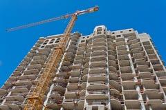 Construcción de la casa residencial Fotografía de archivo