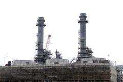 Construcción de la central eléctrica Fotografía de archivo