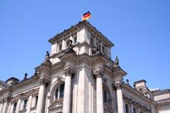 Construcción de la ciudad de Berlín Fotografía de archivo