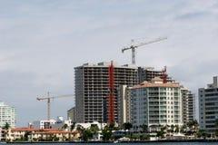 Construcción de la propiedad horizontal Foto de archivo