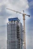 Construcción de la subida de la altura Imagen de archivo libre de regalías