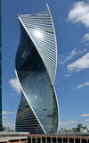 Construcción de la torre de la evolución en Moscú, Rusia Imagenes de archivo