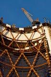 Construcción de la torre de la oficina Fotos de archivo