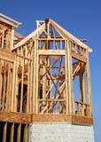 Construcción de la ventana de bahía Imagen de archivo libre de regalías