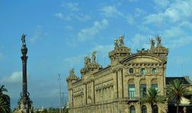 Construcción de las aduanas (Edifici De La Duana) Foto de archivo libre de regalías