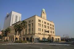 Construcción de las aduanas de Yokohama Foto de archivo libre de regalías