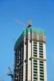 Construcción de las propiedades inmobiliarias Fotografía de archivo