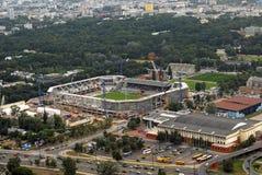 Construcción de Legia del estadio Imagen de archivo