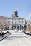Construcción de los artes de la universidad de McGill imagenes de archivo