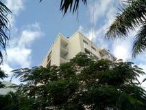Construcción de los departamentos de Asunción foto de archivo