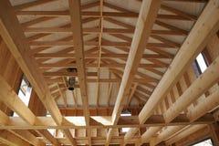 Construcción de madera Imagen de archivo libre de regalías