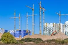Construcción de nuevos edificios Fotos de archivo libres de regalías