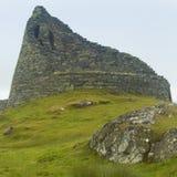 Construcción de piedra antigua escocesa, broch Carloway Isla de Lewis Fotos de archivo libres de regalías