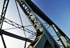 Construcción de puente Imagenes de archivo
