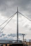 Construcción de puente Foto de archivo libre de regalías