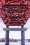 Construcción de puente Fotografía de archivo libre de regalías