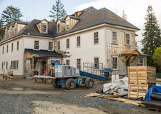 Construcción de un edificio Foto de archivo