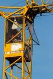 Construcción de un edificio residencial Foto de archivo libre de regalías