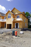 Construcción de un nuevo hogar Imagenes de archivo