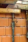 Construcción de una casa separada Fotografía de archivo