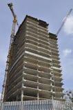 Construcción de una estructura concreta Fotografía de archivo libre de regalías