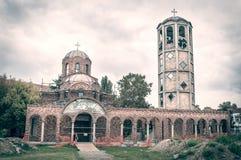 Construcción de una pequeña iglesia imagen de archivo libre de regalías