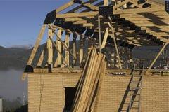 Construcción de viviendas Imagen de archivo libre de regalías