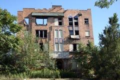 Construcción de viviendas abandonada Fotos de archivo libres de regalías