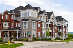Construcción de viviendas atractiva Foto de archivo