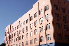 Construcción de viviendas colorida Imágenes de archivo libres de regalías