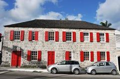 Construcción de viviendas de Bahamas Fotografía de archivo libre de regalías