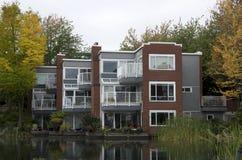 Construcción de viviendas de lujo Fotos de archivo