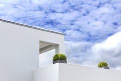 Construcción de viviendas de Mordern Fotos de archivo libres de regalías