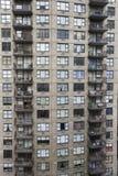 Construcción de viviendas de New York City. Foto de archivo