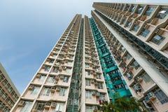 Construcción de viviendas del ángulo bajo foto de archivo libre de regalías