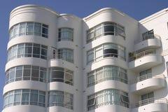 Construcción de viviendas del art déco #1 Fotografía de archivo libre de regalías
