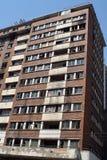 Construcción de viviendas en el distrito financiero central, Johannesburgo, Suráfrica Fotografía de archivo