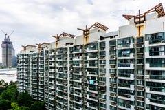 Construcción de viviendas Highrise de Shangai 11 fotos de archivo libres de regalías