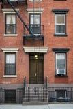 Construcción de viviendas, Manhattan, New York City Foto de archivo
