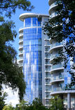 Construcción de viviendas moderna Foto de archivo